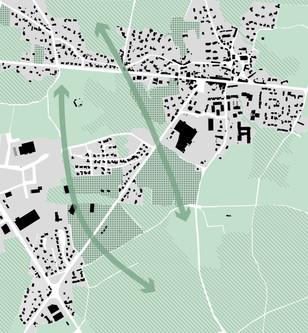 Diagnostic : coupures naturelles dans l'étalement urbain