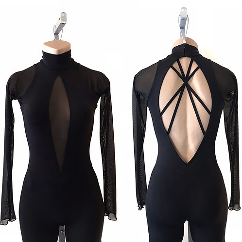 """MILAN"" BODYSUIT WITH SLEEVES"