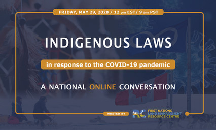 Indigenous Laws in response to the COVID-19 pandemic