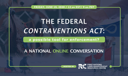 The Federal Contraventions Act: A possible tool for enforcement?