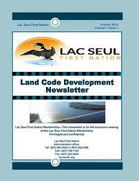 First Issue. Land Code LSFN. Newsletter.