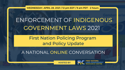 First Nation Policing Program & Policy Update