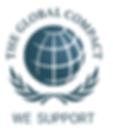 the global compact logotipo