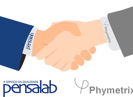 Nova parceria Pensalab com a PhyMetrix