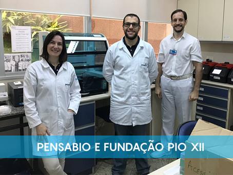 Pensabio e Fundação Pio XII uma parceria no que se refere a tipagem de HLA
