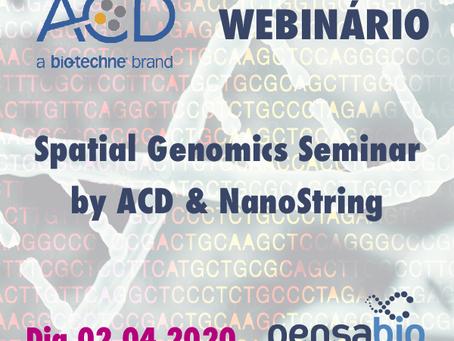 Webinário ACD - Spatial Genomics