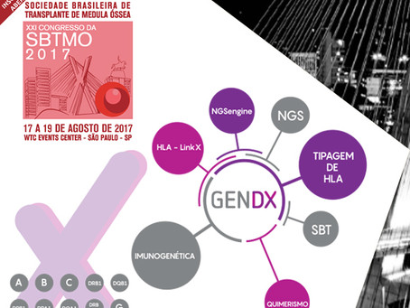 "GenDX, nossa parceira para tipagem de HLA, estará presente no painel ""Experts in NGS HLA typing"" do"