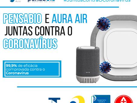 Promoção Pensabio e Aura Air