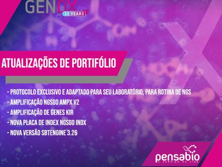 Atualização de portfólio GenDx