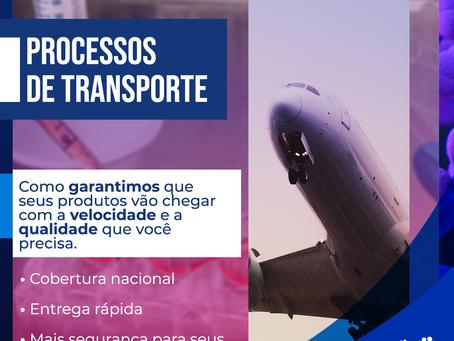 Processo de transportes Pensabio