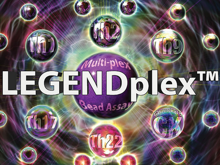 LegendPlex™, o bead-based assay por Citometria de Fluxo da Biolegend