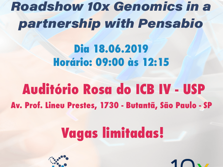 Roadshow 10x Genomics in a partnership with Pensabio
