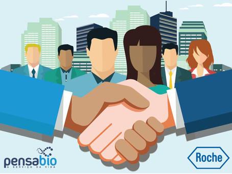A Pensabio anuncia sua mais nova parceira - Roche