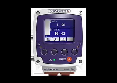 Analisador de O2 para processo – SERVOTOUGH Laser 3 Plus Process