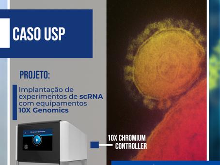 Implantação de experimentos de scRNA com equipamentos 10x Genomics