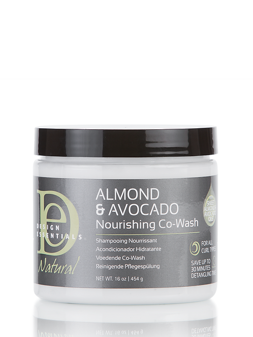 Design Essentials Almond Avocado Co Wash