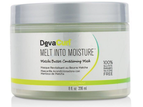 Deva Curl Melt Into Moisture Matcha Butter Mask 8 oz