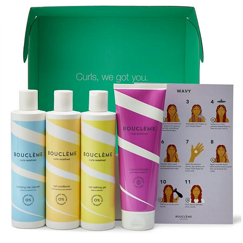 Salon Kit for Curls, Waves and Coils