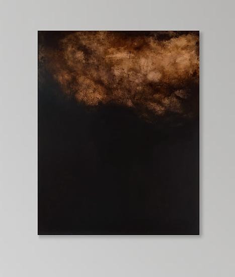 Night Cloud Acrylic on canvas 120 x 100cm