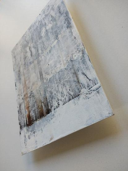 'Trim' Acrylic on board 15 x 20cm