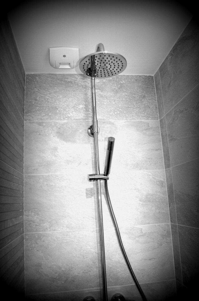 Détail sur colonne de douche