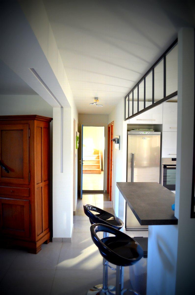 Couloir et cuisine