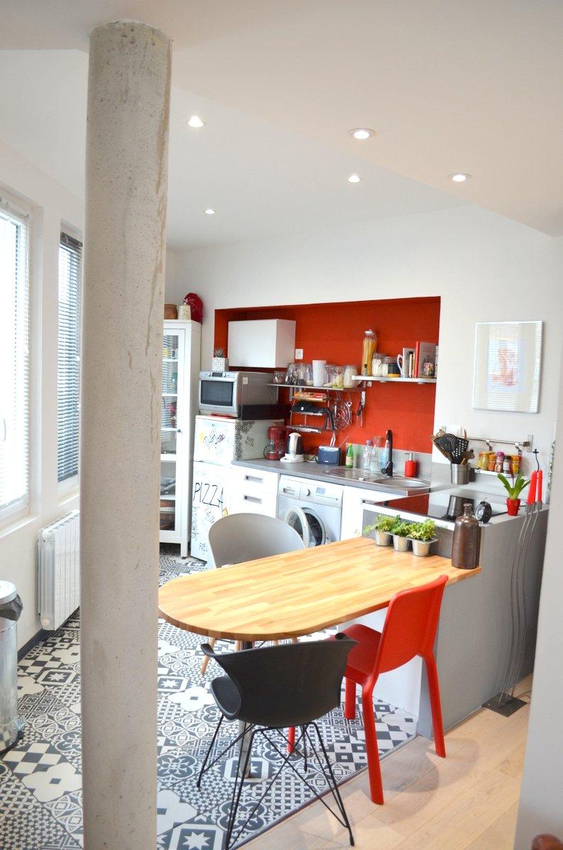 Une cuisine moderne et atypique