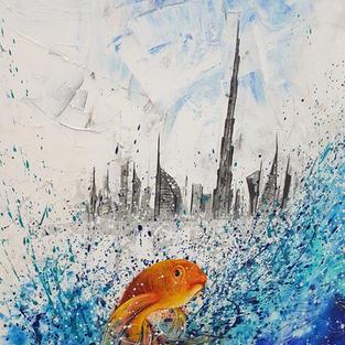 Golden Fish: Emerging Urban Beauty