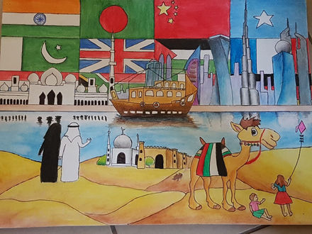 Inter School Art Competition 2016 winning entries