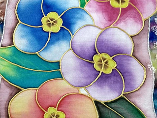Top 10 trending silk painting techniques in 2019
