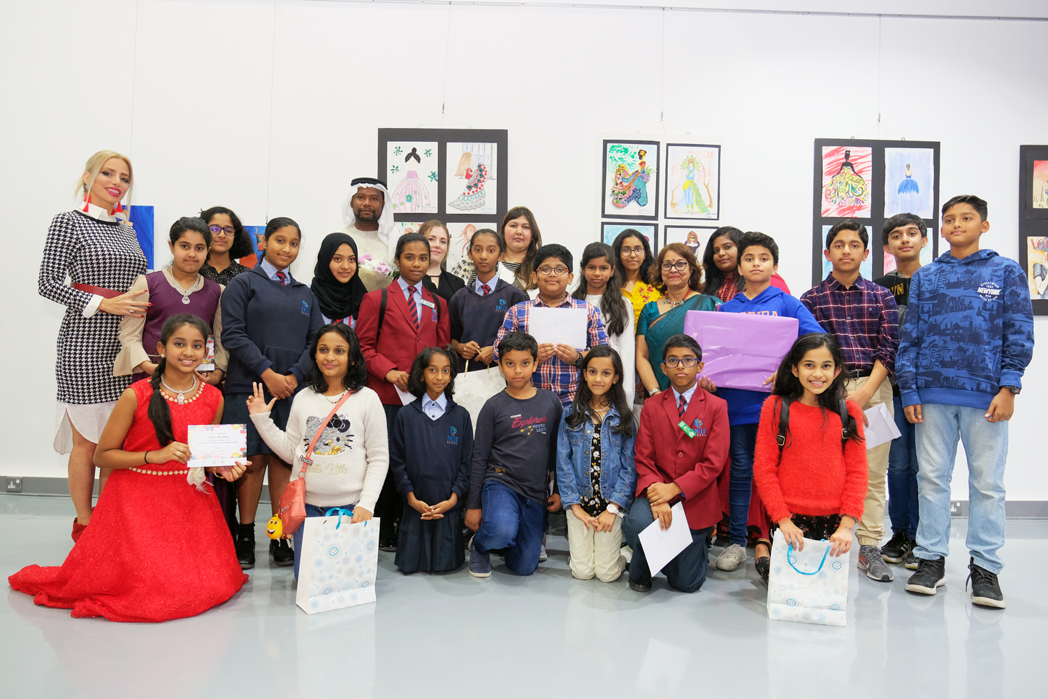 Inter school art competition 2018 award
