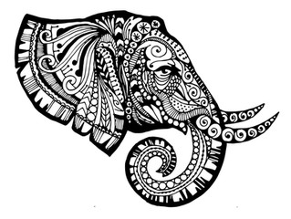 Tangles with Zentangle