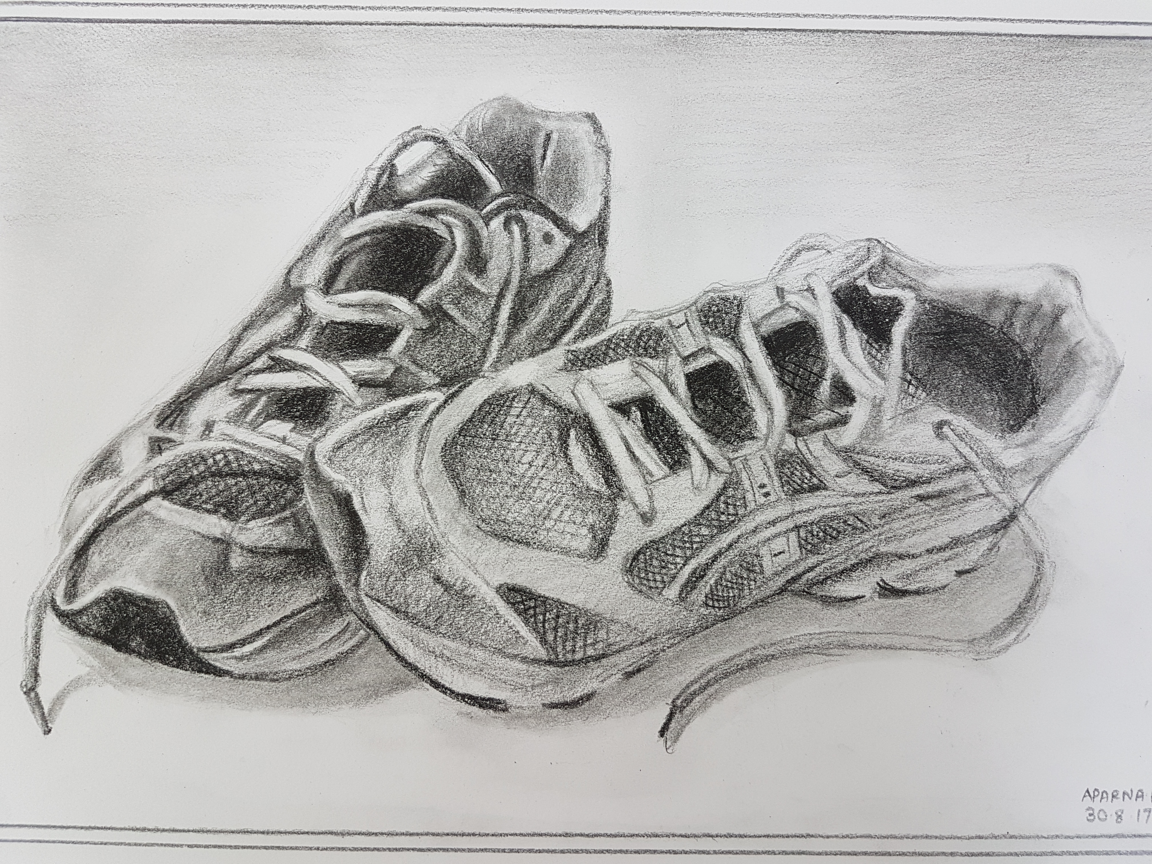 Tennis Shoe of Aparna
