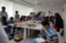 ASL Artwork Workshop by Victor Sitali in collaboration with Palette Dubai