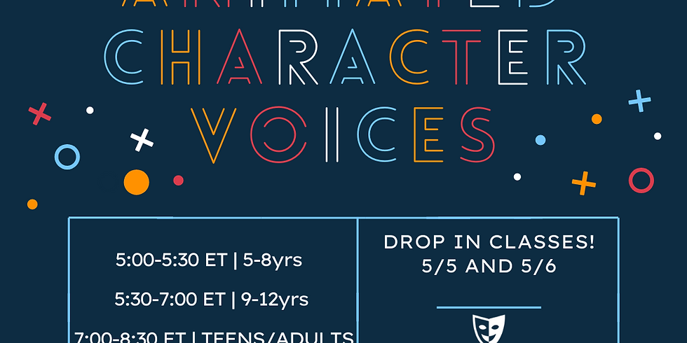 Animated Character Voices w/ Nate Begle - Drop-Ins