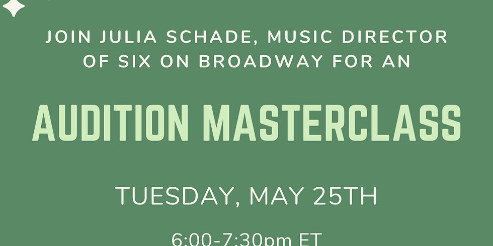 Music Director Audition Masterclass