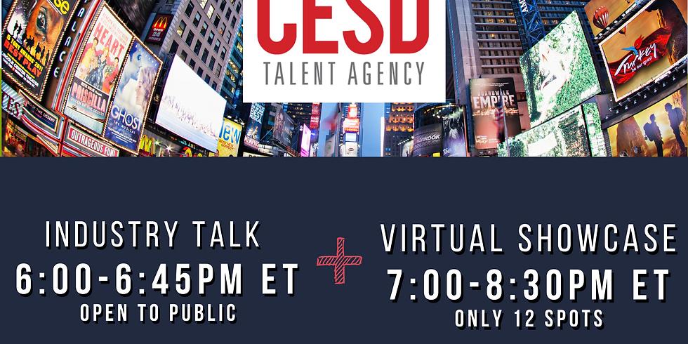 CESD - Industry Talk & Virtual Showcase April 7th