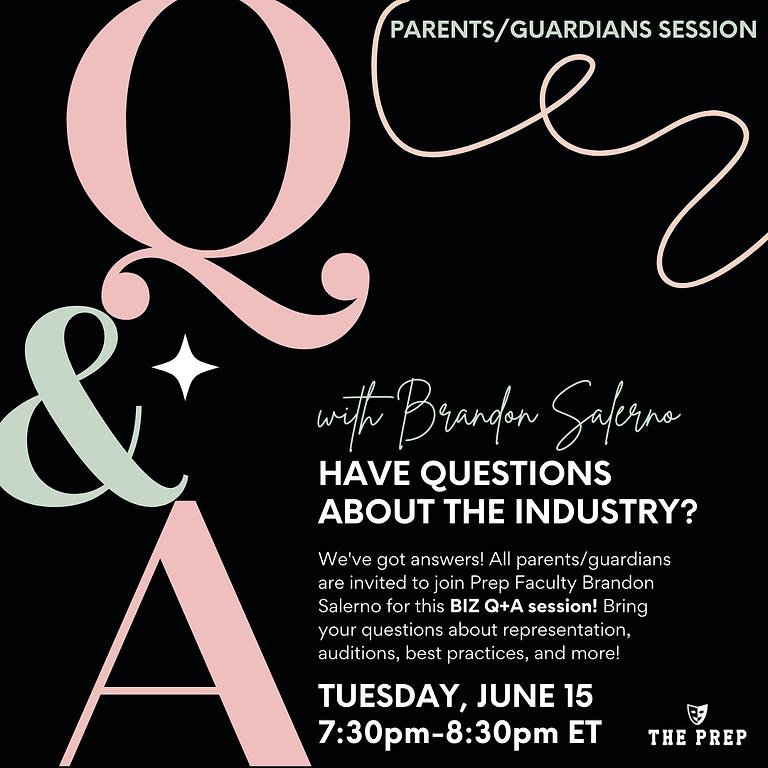 Parents/Guardians BIZ Q + A