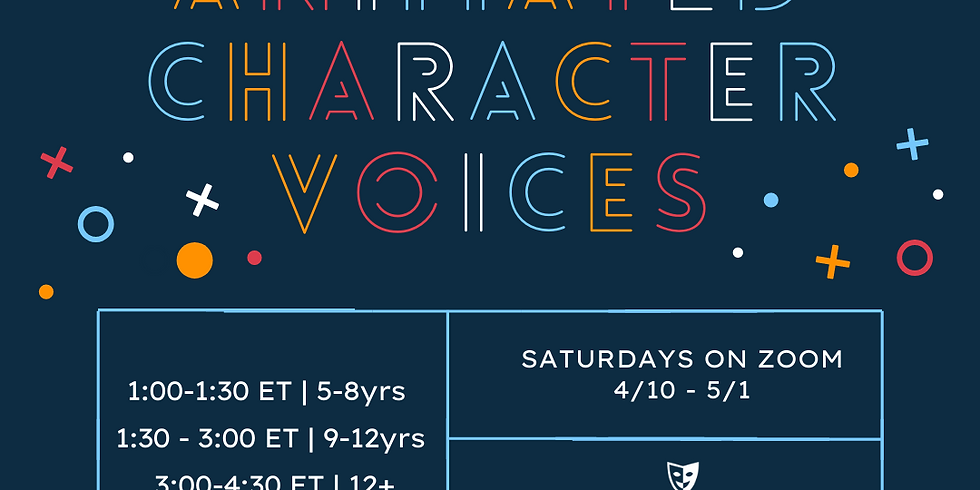 Animated Character Voices w/ Nate Begle - 4 Week Intensive
