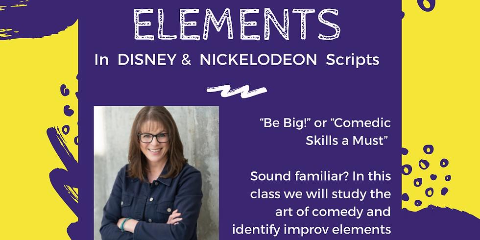 Improv Elements in Disney & Nickelodeon Scripts