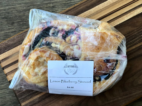 Lemon Blueberry Streusel - Phileo Artisan Bakery