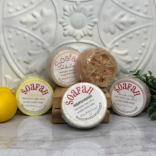 Soapah (Soap Loofahs) - Living Simply Soap