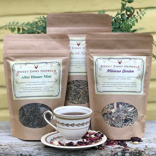 Herbal Teas from Sweet Emmy Herbals