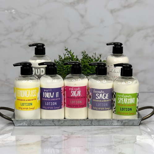 Lotion - Living Simply Soap