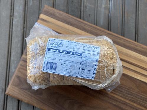 Whole Wheat 3 Seed Bread - Big Sky Bread