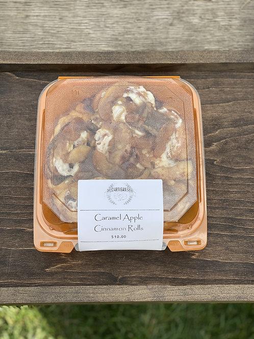 Carmel Apple Cinnamon Roll - Phileo Artisan Bakery