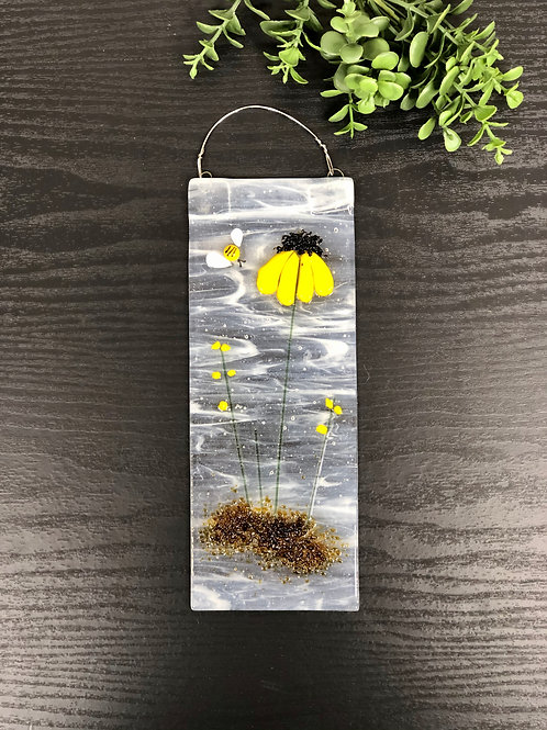 Fused Glass Sun Catchers - Flowers