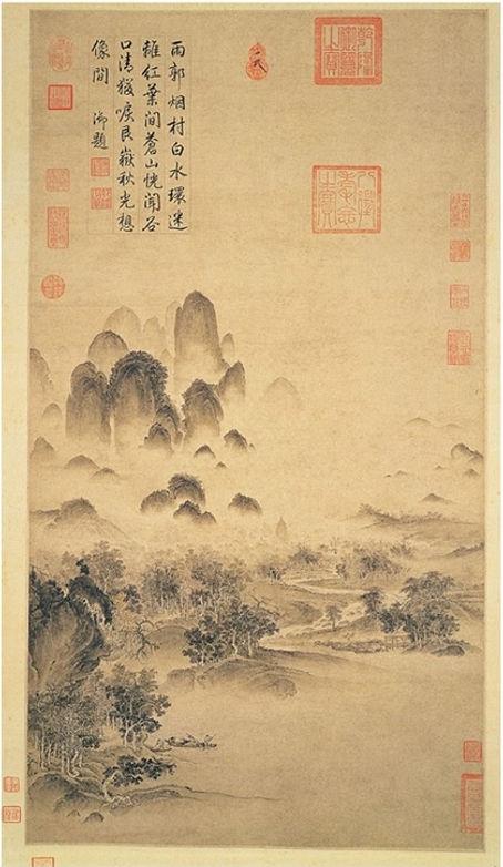 Caligrafía y pintura zen