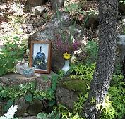 Altar Deshimaru en Shorin ji