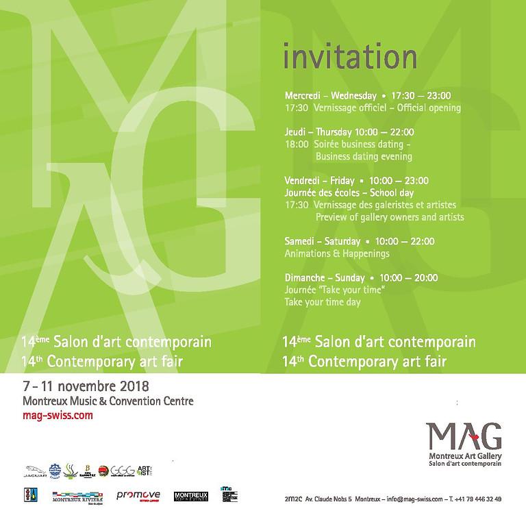 Présence au MONTREUX ART GALLERY (MAG)